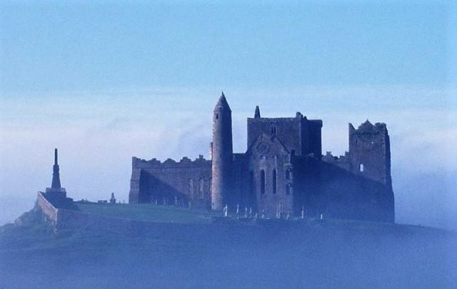 The Rock of Cashel is just one of the many historic and mythological sites you can visit in Ireland.