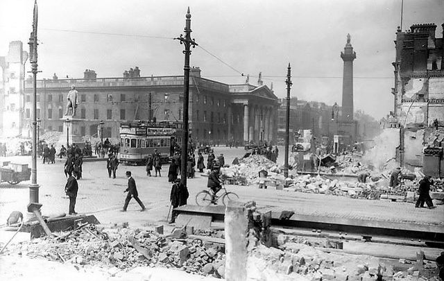 Scars of the 1916 Easter Rising are still palpable in Dublin