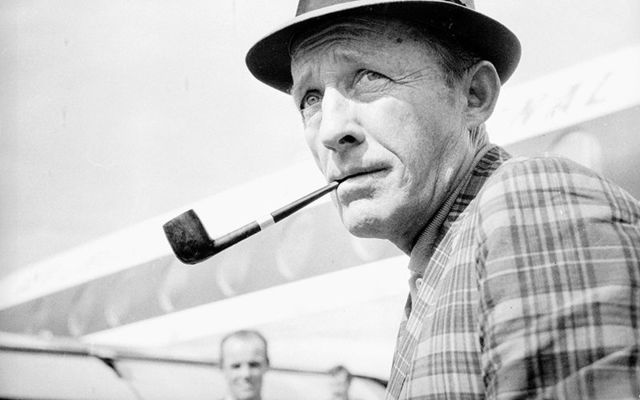 Irish American crooner Bing Crosby.