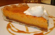 Halloween Irish whiskey pumpkin pie recipe