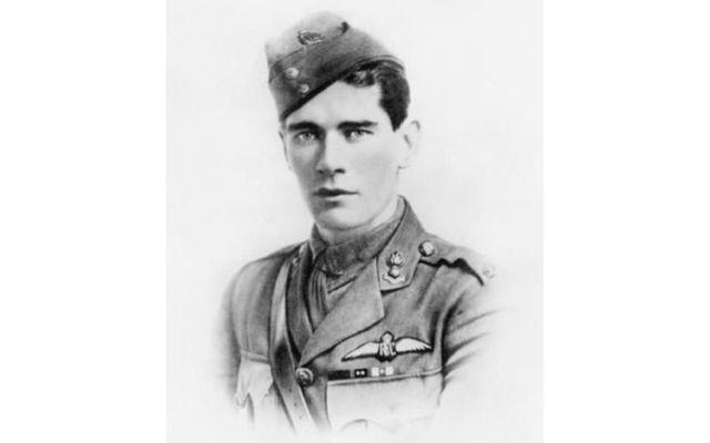 "Edward \""Mick\"" Mannock: Irish RAF pilot had 61 ""kills"" and was known as ace."
