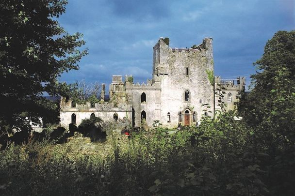 Leap Castle - would you be brave enough to spend the night here?