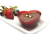 Thumb chocolate mousse heart valentines day istock