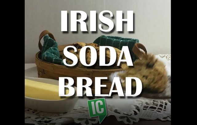 Irish soda bread: This old Irish recipe is special to the Irish people, a link back to a simpler Ireland.