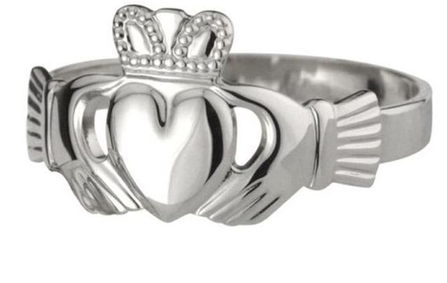 The Claddagh ring, dating back to the 17th century, symbolizes love, friendship and loyalty.