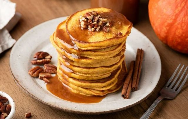 Pumpkin pancakes: a perfect seasonal start to Thanksgiving