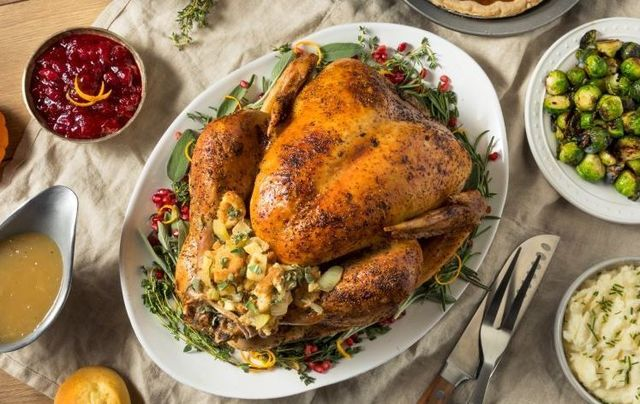 Learn how to roast a Thanksgiving turkey from our Irish chef