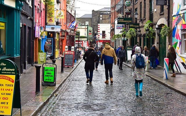 Temple Bar, Dublin: Living in Ireland over the Thanksgiving holidays makes you take account of what you are doing with your life.