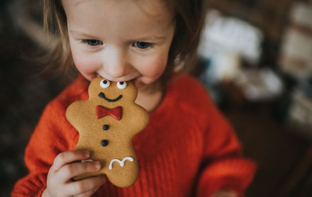 """Loving Christmas food: \""""Drinks are overflowing and cupboards and fridges are stocked with enough to see out the winter, never mind a couple of weeks.\"""""""