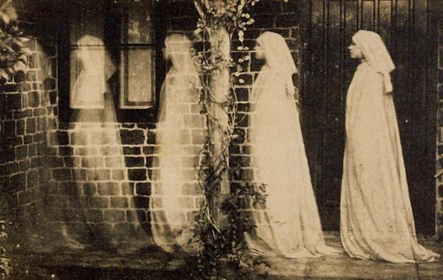 Original Ghostbusters' theories and investigations involved séances, deathbed wraiths, hauntings and apparitions.
