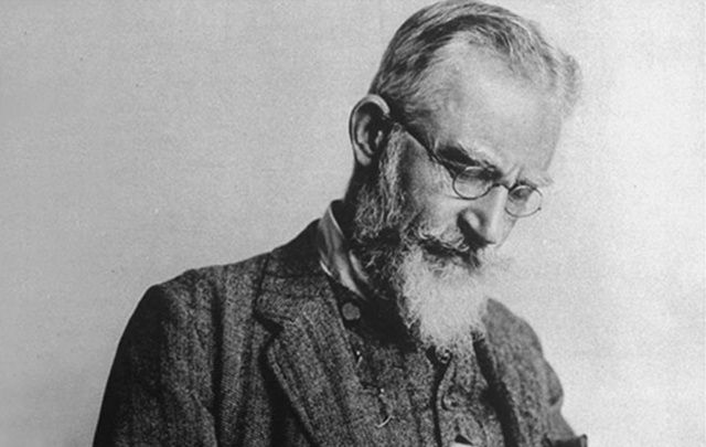 "george bernard shaw s ten wittiest quotes com the only man in the world to have won a nobel prize for literature ""pyg on"" and an oscar for the screenplay of ""pyg on"" george bernard shaw was a"