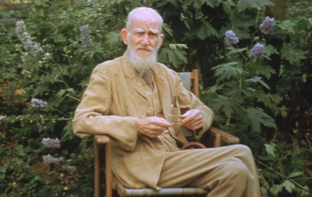 George Bernard Shaw, circa 1946.