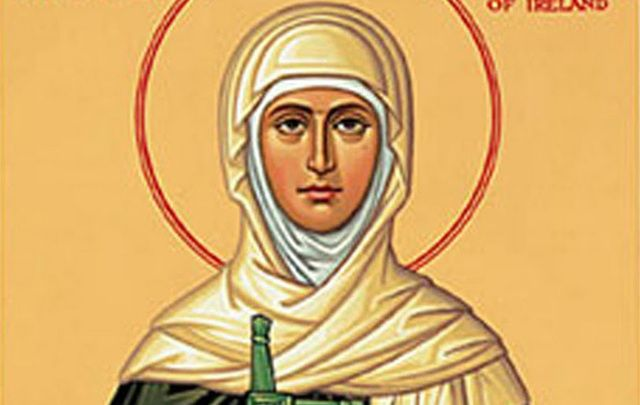 February 1st is one of the eight sacred days in Ireland, St. Brigid's Day, a time when the old Celtic world stopped to celebrate.