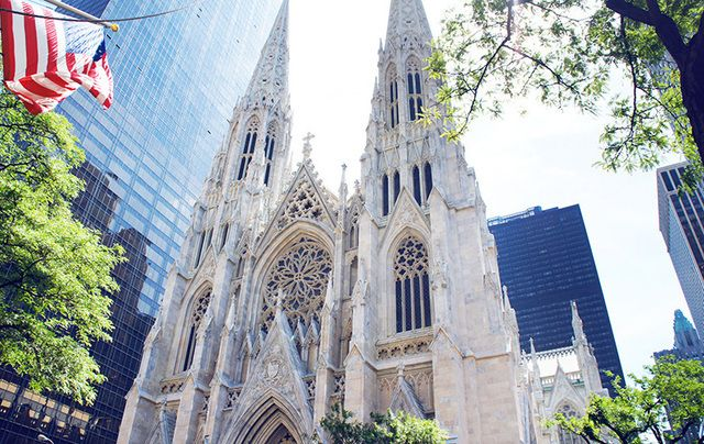 St. Patrick\'s Cathedral, on Fifth Avenue, in New York City