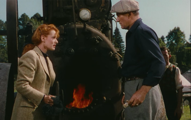 "Still of John Wayne and Maureen O'Hara from ""The Quiet Man"""