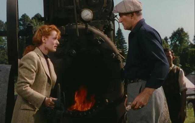 """Still of John Wayne and Maureen O\'Hara from \""""The Quiet Man\"""""""