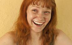 Thumb mi redhead woman red head hair laughing jokes istock