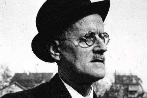 James Joyce: Author of Ulysess, celebrated on Bloomsday.