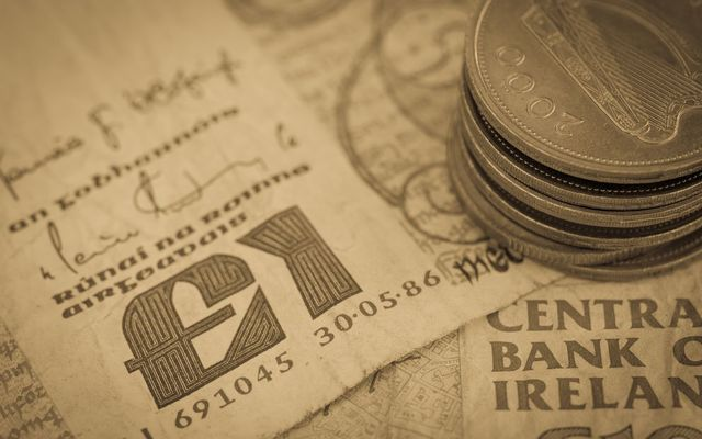 Irish pre-Euro punt coins could fetch thousands at auction as coin collectors.