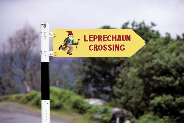 Watch out for leprechauns!