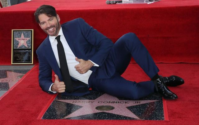 Harry Connick Jr. is honored with a Star on the Hollywood Walk of Fame on October 24, 2019, in Hollywood, California.