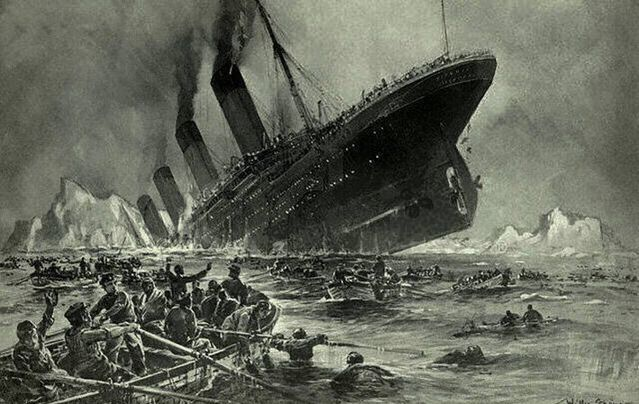 Titanic struck an iceberg after receiving seven warnings
