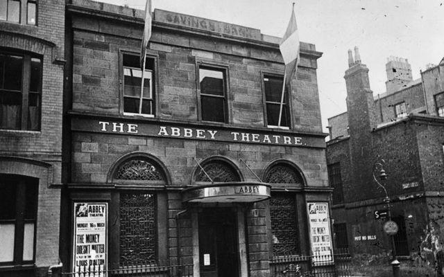 The original Abbey Theatre in 1930.