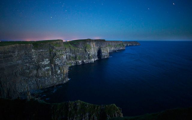 The Cliff of Moher on the Summer Solstice.
