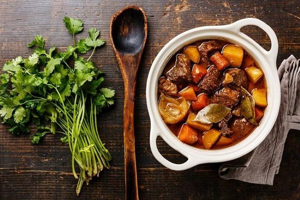 Hearty wholesome Irish stew: Irish food has developed a bad rap as being heavy and stodgy but this is not the case.