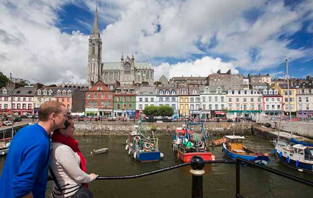 Cobh, County Cork: Get to know the real Ireland and its people. Immerse yourself in the beauty of Ireland's villages.