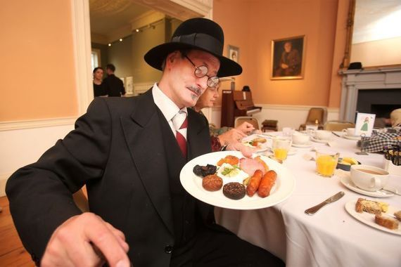Enjoy a Bloomsday meal to mark the occasion.