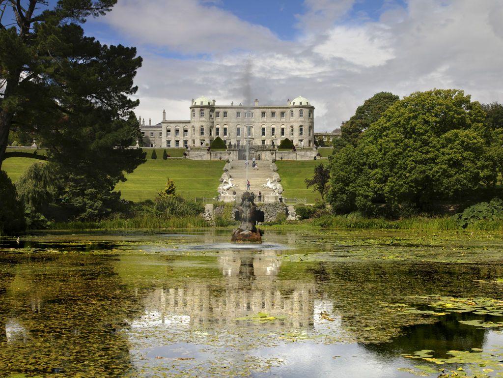 Powerscourt House and Gardens. Photo: Tourism Ireland