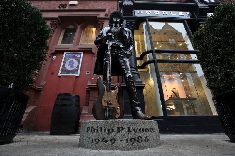 The Phil Lynott statue in Dublin (RollingNews.ie)