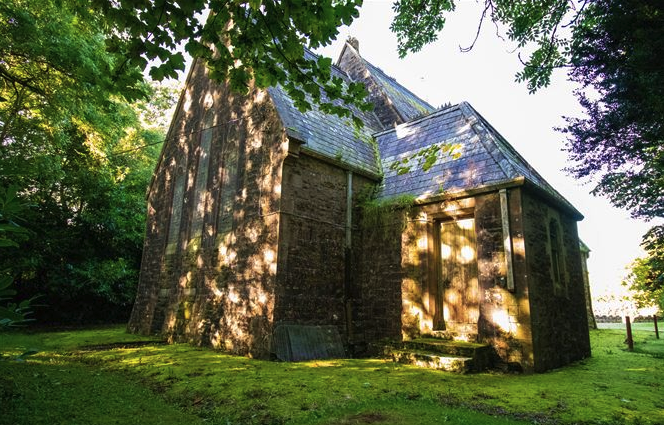 Irish 19th-century church goes on the market for $190 on wicklow house plan, waterford house plan, coleraine house plan,