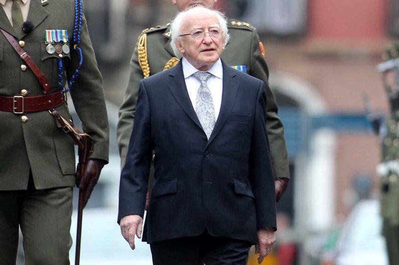 President of Ireland Michael D. Higgins (RollingNews.ie)