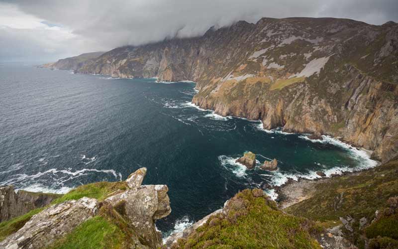 Sliabh Liag Cliffs, Co. Донегол. Кредит: Getty Images