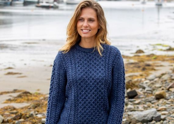 Win a beautiful Aran sweater from The Irish Store.