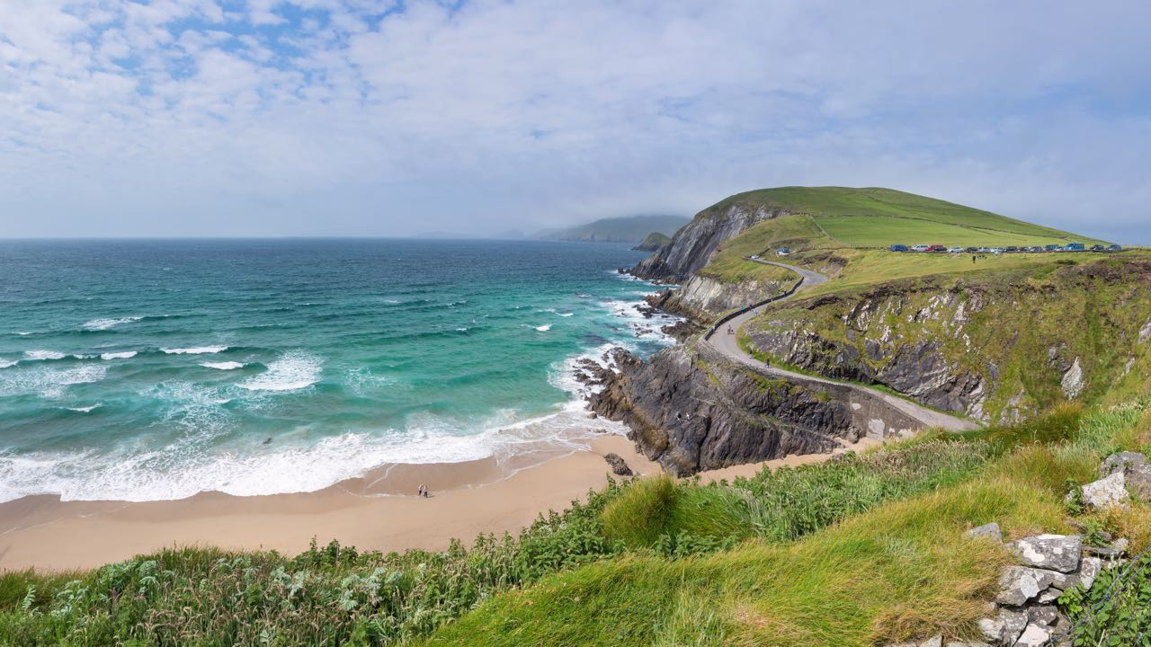 A view of Slea Head from the Dingle Way
