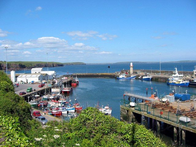Dunmore East, Co Waterford. Credit: Wikipedia/Paul O'Farrell/CC BY-SA 2.0