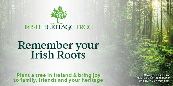 Remember your Irish ancestors with Irish Heritage Tree.