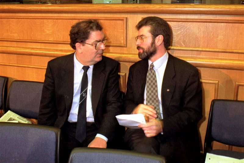 John Hume and Gerry Adams in 1994 (RollingNews.ie)