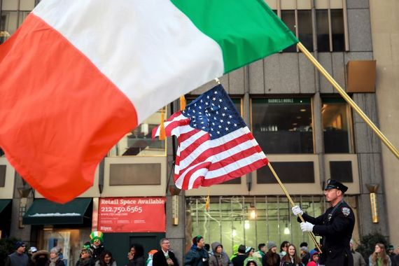 Influence of the Irish in New York today
