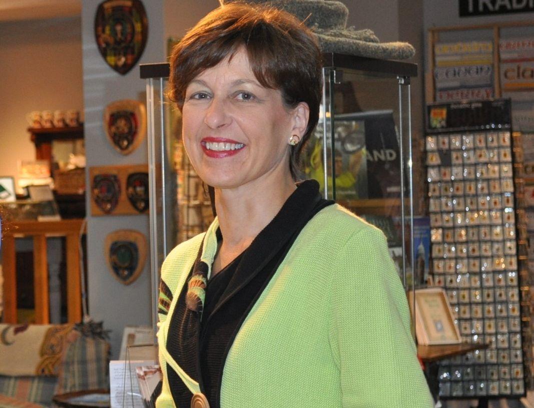 Margaret McLemore at Irish Traditions. Photo courtesy of Irish Traditions