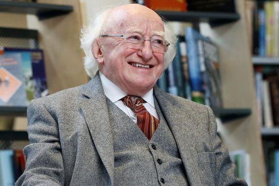 President of Ireland Michael D. Higgins. (RollingNews.ie)
