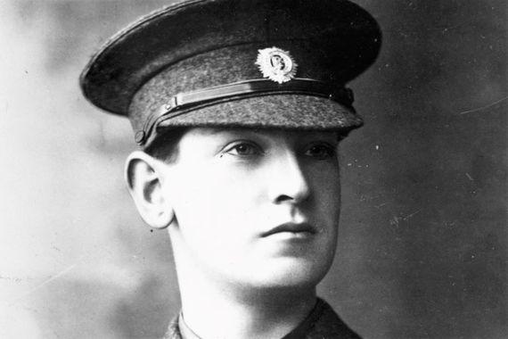 Michael Collins in uniform.
