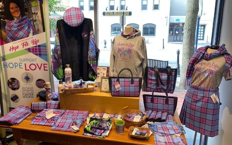 Donegal Square has added new items to their Hope for Life collection
