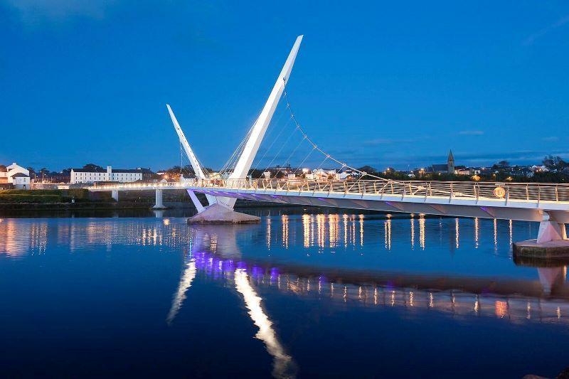 The Peace Bridge. (Ireland's Content Pool)