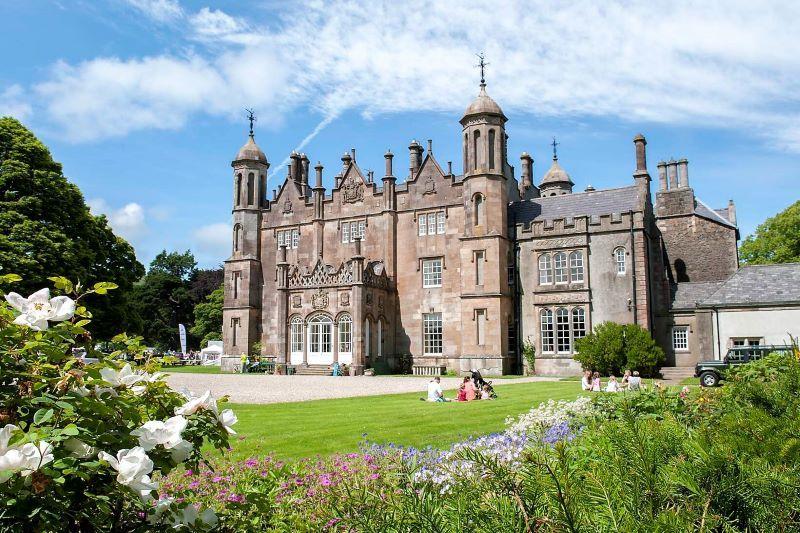 Glenarm Castle. (Ireland's Content Pool)