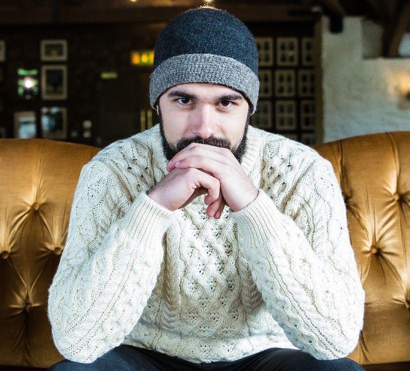 Irish wool sweater from CelticClothing.com