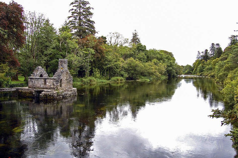 Monk's fishing house, in Cong, County Mayo.